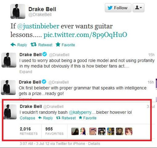 drake bell odia a JB 5