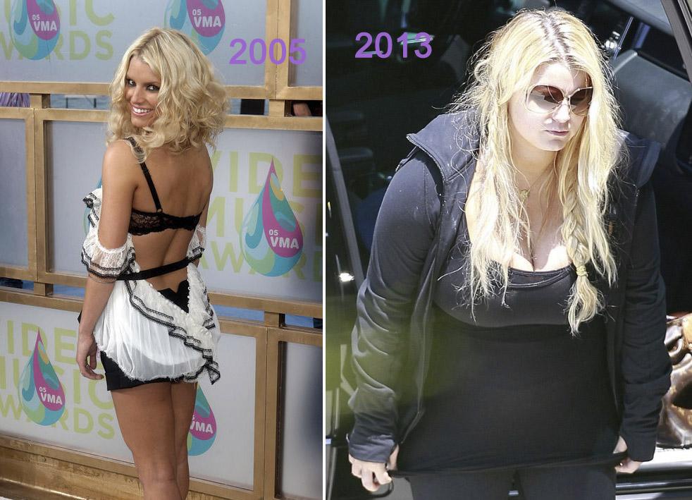 jennifer cuestion de peso antes y despues de adelgazar