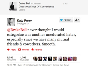 katy perry drake bell
