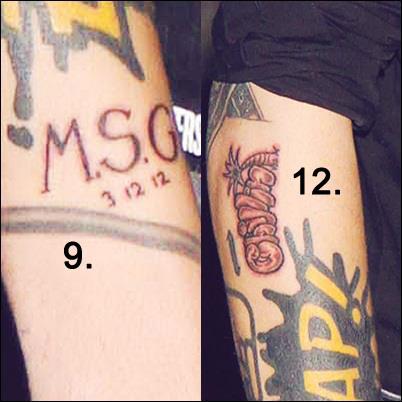 Zayn Malik Tattoo Sleeve 2013 ZAYN MALIK.