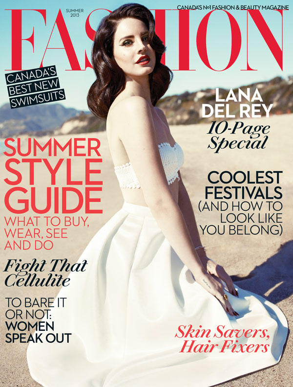 lana del rey fashion magazine
