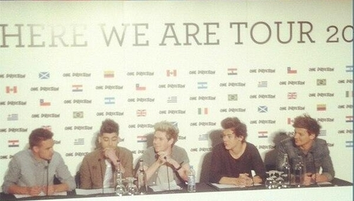 One Direction ha anunciado Where We Are Tour 2014 , su primera gira