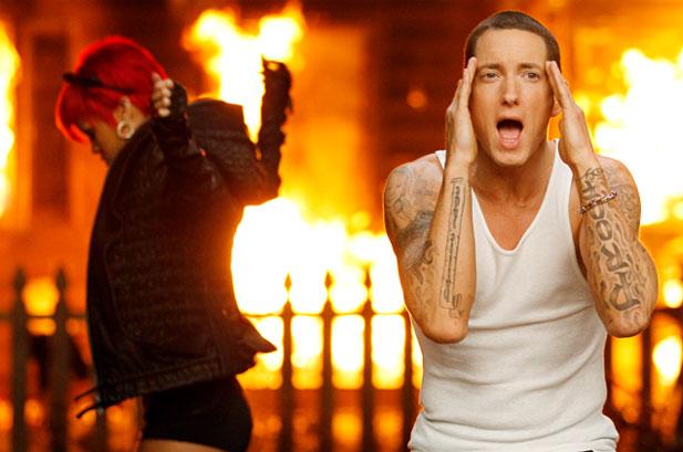 The Monster Es Lo Nuevo De Eminem Y Rihanna - Tatuajes-eminem