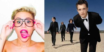 miley cyrus emas the killers