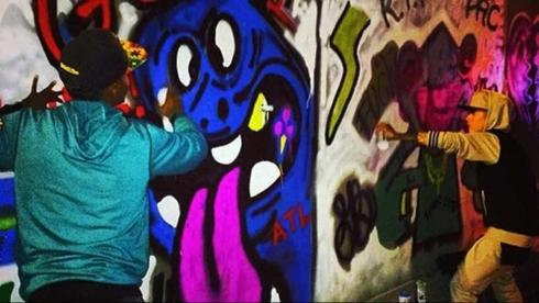 justin bieber graffiti brasil
