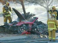 coche paul walker accidente