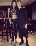 Justin Bieber y Yovanna Ventura